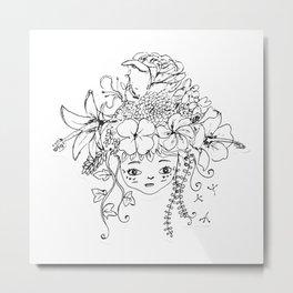flowerchild Metal Print