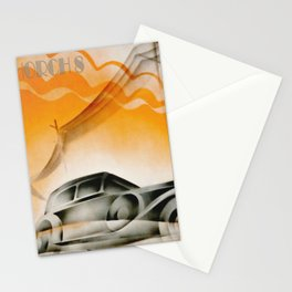 Automotive Art 398 Stationery Cards