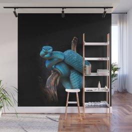 Blue Snake Dream Wall Mural