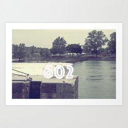 602 Art Print