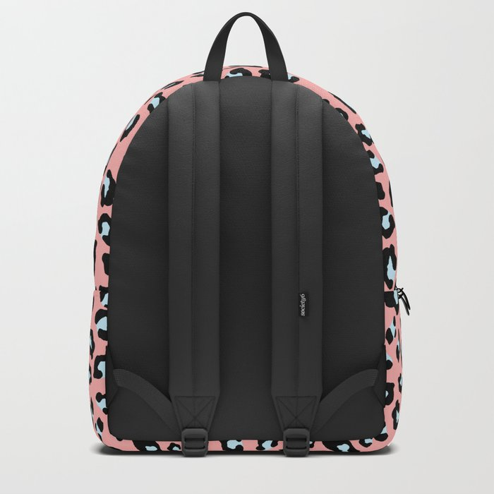 Leopard Print - Icy Peach Backpack