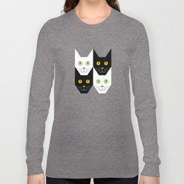 Black cat, white cat Long Sleeve T-shirt