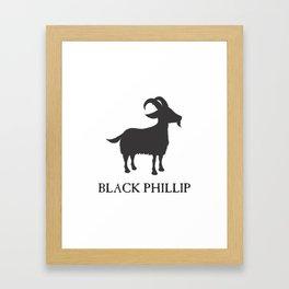 Black Philip II Framed Art Print