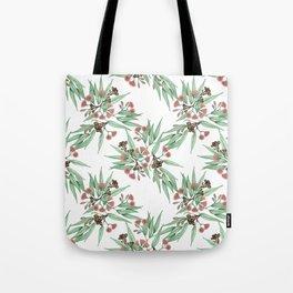 Gumnuts and Eucalyptus Leaves I Tote Bag