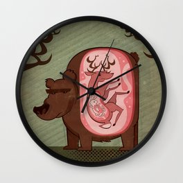 Indeergestion Wall Clock