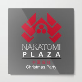 Nakatomi Plaza Company Christmas Party Metal Print