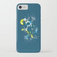 suit iPhone & iPod Cases featuring space suit by Jonah Makes Artstuff