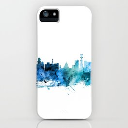Calcutta (Kolkata) India Skyline iPhone Case