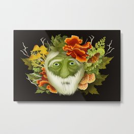 The Green Seer Metal Print