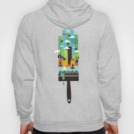 Paint your world Hoody