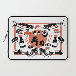 Sushi And Soy Sauce Laptop Sleeve