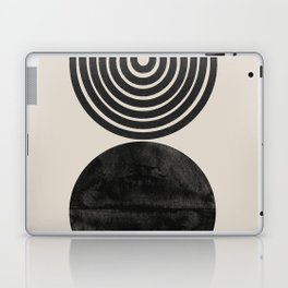 Woodblock Print, Modern Art Laptop & iPad Skin