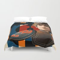 hiccup Duvet Covers featuring Train a Dragon by milanova