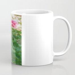Pink Roses in Anzures 5  Sketchy Coffee Mug