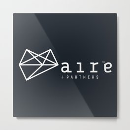 aireshops | Aire + Partners | Brand Book Metal Print