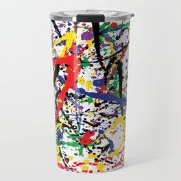 Pollock Remembered by Kathy Morton Stanion Travel Mug