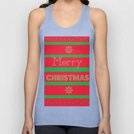 holiday christmas decoration baubles        Unisex Tank Top