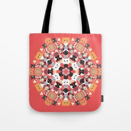 Catleidoscope Tote Bag