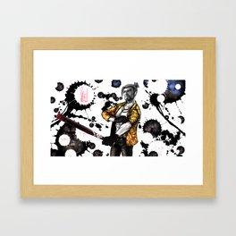 Mad Dog of Hanamura Framed Art Print