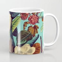 FLORAL AND BIRDS XXI Coffee Mug
