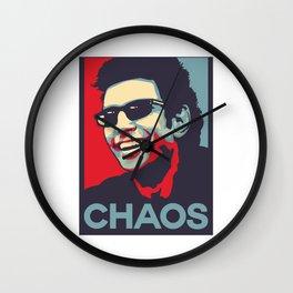 Ian Malcolm 'Chaos' Wall Clock
