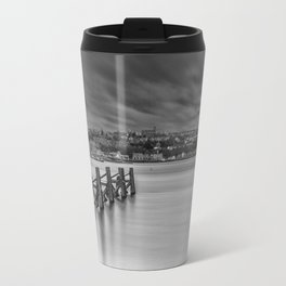 Dramatic Skies Over Cardiff Bay Travel Mug