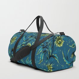 Queen of the Night - Teal Duffle Bag