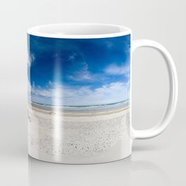 Grenen Beach Panorama Coffee Mug