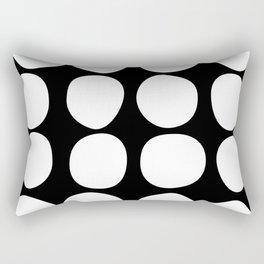 Dots black n´white Rectangular Pillow