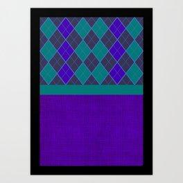 scotch/ back ground /mix Art Print