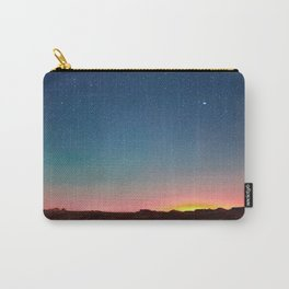 Bisti Badlands Hoodoos Under New Mexico Stary Night Carry-All Pouch
