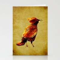 crow Stationery Cards featuring Crow by Ganech joe