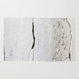 Cracks in Concrete rustic decor Rug