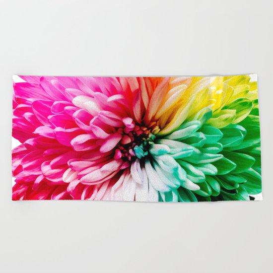 Blooming Beach Towel