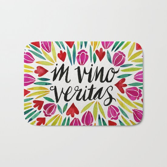 In Vino Veritas Bath Mat