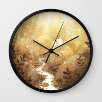 woodland Wall Clocks featuring Woodland by Foya