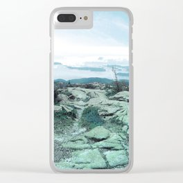 Cadillac Mountain Maine Clear iPhone Case