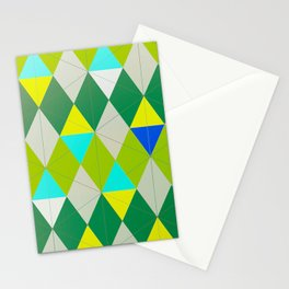 Green Pictures Stationery Cards