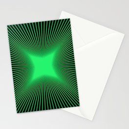 The Emerald Illusion Stationery Cards