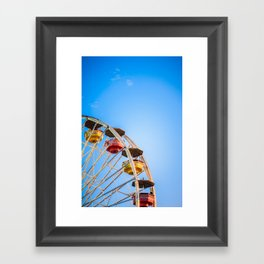 Pacific Park Framed Art Print