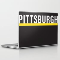 pittsburgh Laptop & iPad Skins featuring Pittsburgh Pride by KatieKatherine