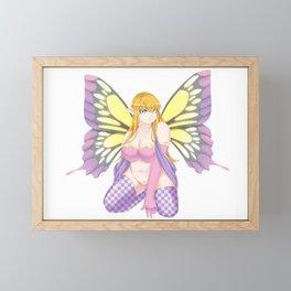 Breena | Chubby Fairy Fantasy | Mythology Anime Art Framed Mini Art Print