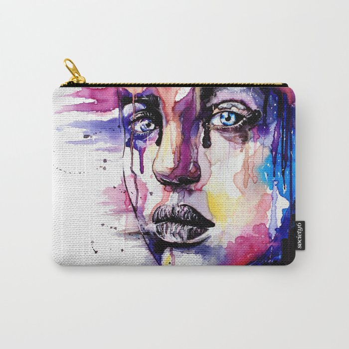 Colored soul Carry-All Pouch