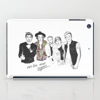 one direction iPad Cases featuring One Direction by Stephanie Recking