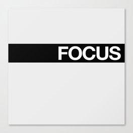 FOCUS STRIPE Canvas Print