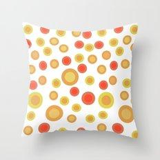 Circular Warm Texture Throw Pillow