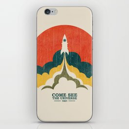 Come See The Universe iPhone Skin