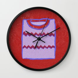 Sweater #2 Wall Clock