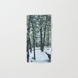 Spring Snow Hand & Bath Towel