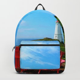 Louisbourg Lighthouse Backpack